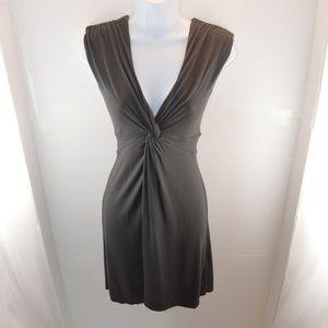 Express Knot Front Sleeveless Dress